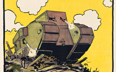 DESIGNER UNKNOWN MECHANICAL OPERATION OF THE BRITISH TANKS