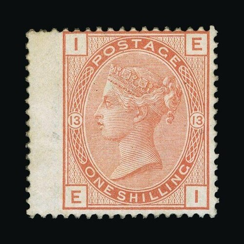 Great Britain - QV (surface printed) : (SG 151) 1873-80 1s o...