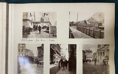 Italy. An album of 146 mounted photographs documenting a tou...