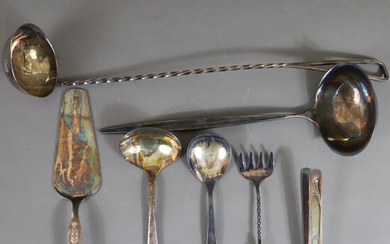 VINTAGE SILVER PLATED - 7 pcs.
