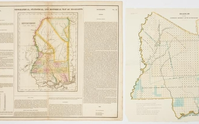 2 Mississippi Related Maps, Native American interest