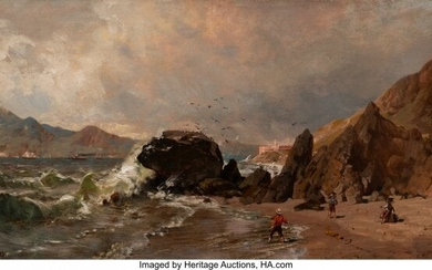 67074: Thomas Hill (American, 1829-1908) A View of Fort