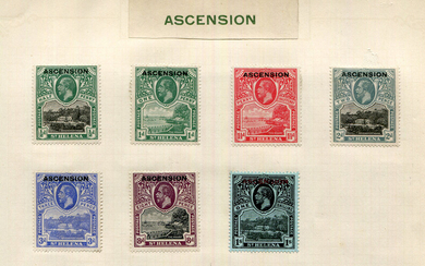 A collection of world stamps in ten albums and two small stock books, with Great Britain 1840 1d bla