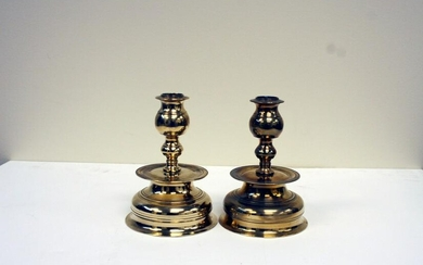 A pair of small 19th century Swedish bell based