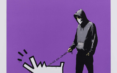Banksy (b.1974) Choose Your Weapon (Purple) (Signed)