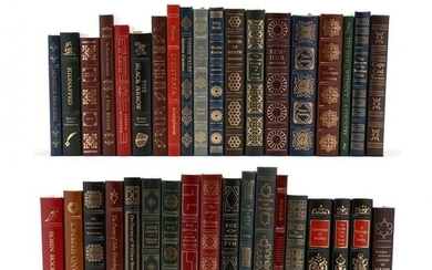 Collection of 37 Finely Bound Easton Press Books