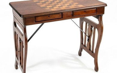 Game/console table around 1900