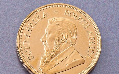 Gold coin, Krugerrand , South Africa 2009, 1ounce,...
