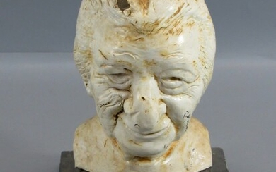 Interesting! Rubber Bust in the Figure of Golda Meir