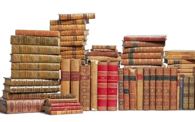 Ɵ MISCELLANEOUS: MOSTLY NINETEENTH-CENTURY BOOKS IN ENGLISH, 114 VOLUMES