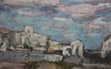 *Peggy Somerville pastel - The Camargue