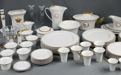 Rosenthal Versace porcelain. Dining service and coffee