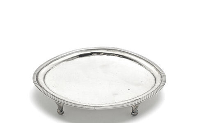 A Scottish provincial silver teapot stand