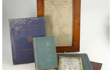 A collection of books and items relating to to the Kent fami...