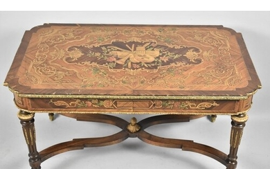 An Early 20th Century French Ormolu Mounted and Inlaid Kingw...