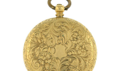 An early 20th century 18ct gold pocket watch.