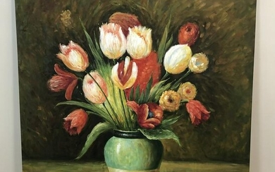 Becky C. From Still Life of Tulips Painting