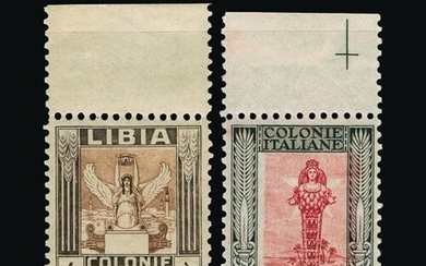 Italy - Colonies - Libya : (SG 47a/61) 1924-40 Pictorial iss...