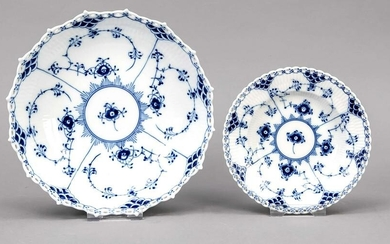 Two round bowls, Royal Copenha