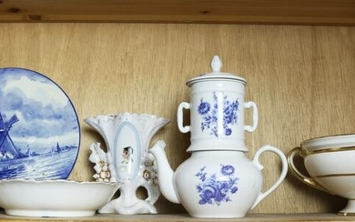 (lot of 6) Collection of Continental porcelain