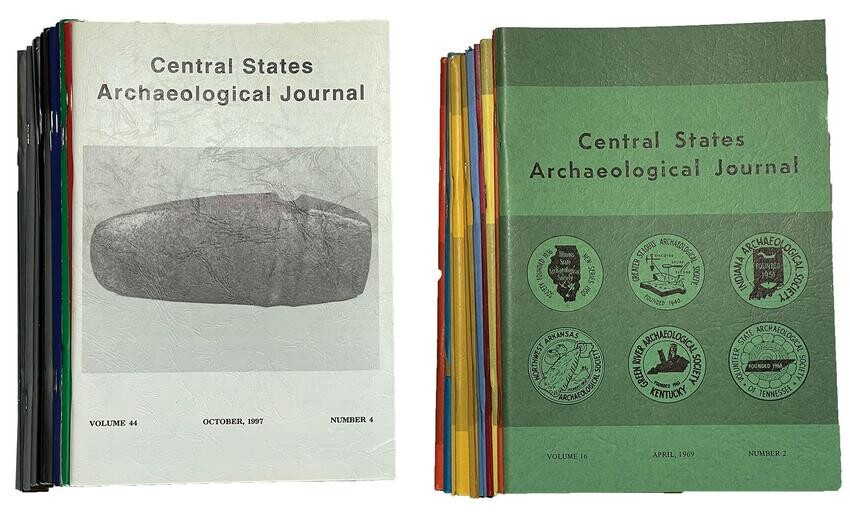 49 Issues of Central States Archaeological Journals.
