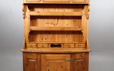 COUNTRY CABINET, pine.