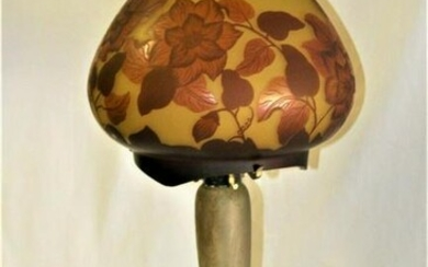 French Lamp base Original ,Art Nouveau , shade is not