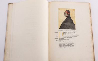 Grabhorn Press Edition, Othello by Shakespeare