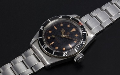 "ROLEX, A STEEL OYSTER PERPETUAL SUBMARINER ""BIG CROWN"", REF. 5510"