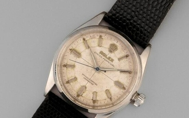 Rolex, Stainless Steel Oyster Perpetual Wristwatch, ca.