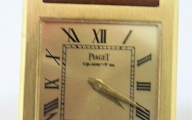 Solid 18k PIAGET Ladies Watch Ref 70800 With 18k Gold