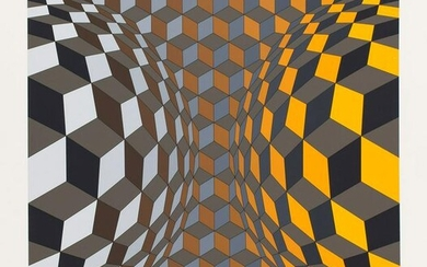 Victor Vasarely (1906 - 1997) Untitled