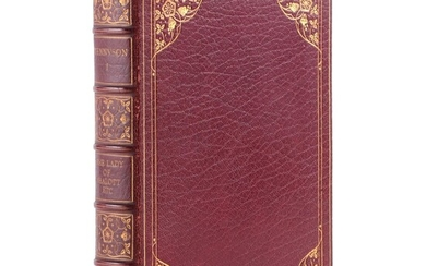 Volume of Lord Tennyson's Works with Tipped in Letter by Lord Tennyson, 1929