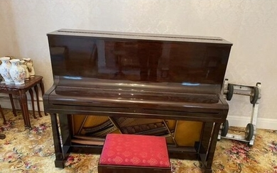 Welmar (c1939) An upright piano in a traditional mahogany ca...