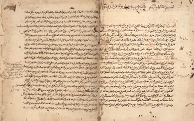A collection of different treaties bound in one volume dealing with astronomy, keeping time and mathematics, North Africa and Near East, 15th to 18th century, the first treaty connected with astronomy, the movements of planets and calculating the...