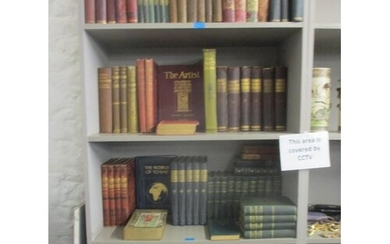 A selection of books on art, history of Great Britain and ge...