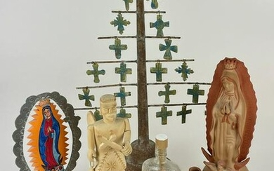 Collection Southwest/Mexican Religious Figures