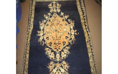 Eastern Fringed and Bordered Wool Prayer Rug, The Pink Centr...