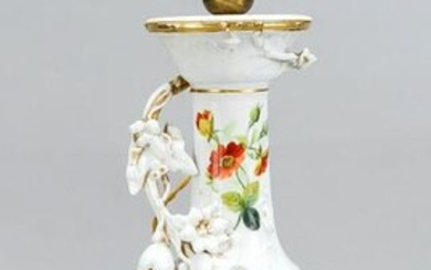 French table lamp on console, H 58 cm.