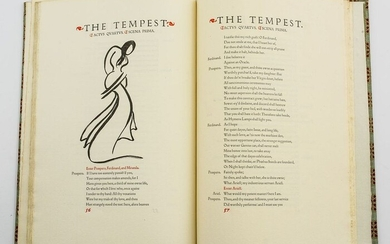 Grabhorn Press Edition, The Tempest by Shakespeare