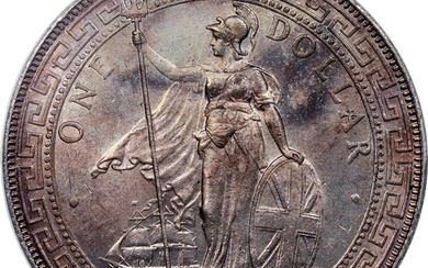 Great Britain, silver $1, 1896-B, Trade dollar