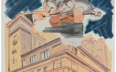 Larry Rivers (1923-2002) Carnegie Hall, from the
