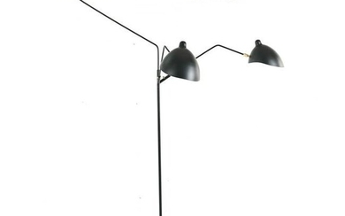 MODERN FLOOR LAMP IN THE MANNER OF SERGE MOUILLE