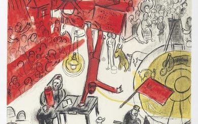 Marc Chagall, The Revolution, Lithograph Poster