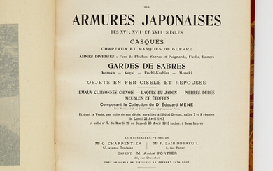 THE MÈNE COLLECTION OF JAPANESE ARMOURY.