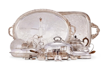 A COLLECTION OF PLATED WARES, VARIOUS DATES