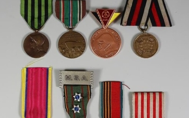 A Collection of Foreign Military Medals, including - Prussian...