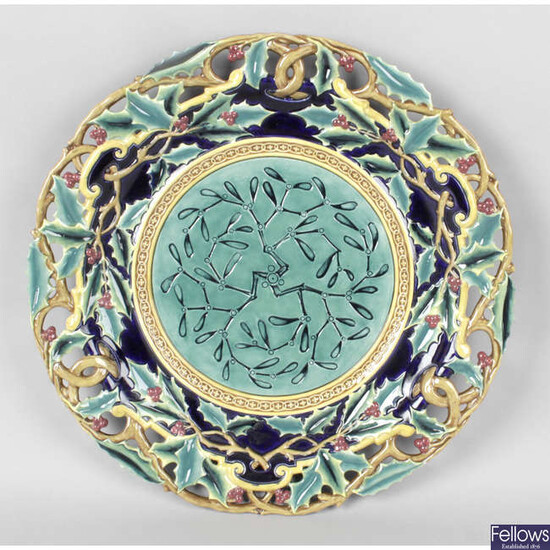 A modern Minton archive collection limited edition Christmas plate and other collectable items.