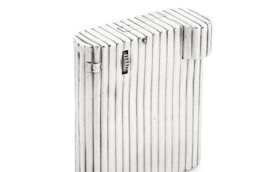 An unusual French silver lighter