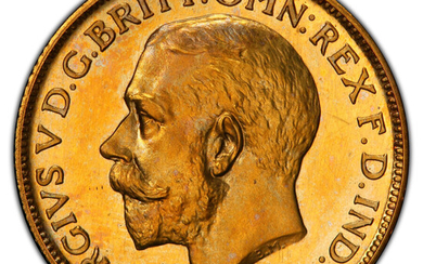 Great Britain: , George V gold Proof Sovereign 1911 PR65 Cameo PCGS,...